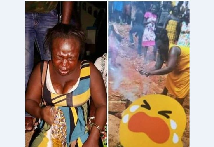 Police grab woman thought to have set Captain Mahama's body ablaze