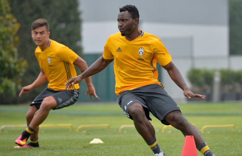 PHOTOS: Kwadwo Asamoah and teammates ready for Champs League final with last training in Cardiff
