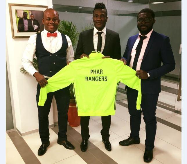 Asamoah Gyan Named Honorary President of Phar Rangers FC
