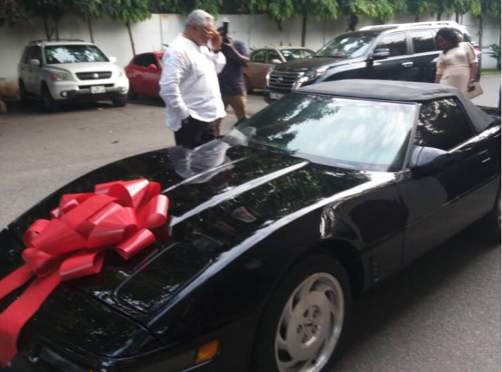 Rawlings @70: 'Papa J' receives surprise car gift