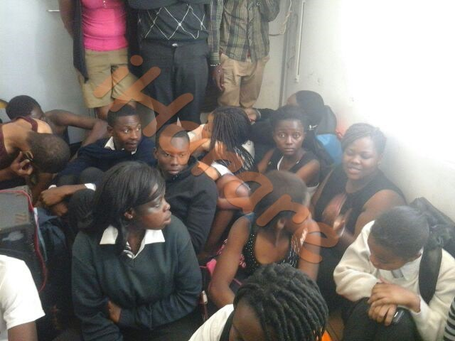24 students arrested after police caught them having wild s.ex party