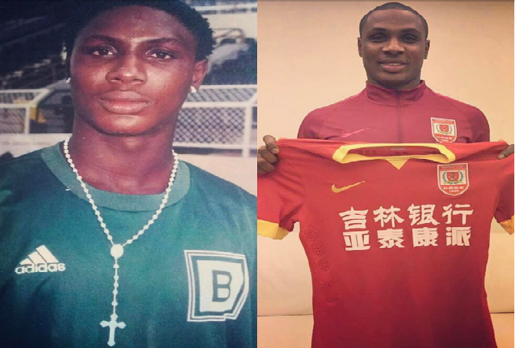 Nigeria's highest paid footballer - My girlfriend dumped me because I was broke