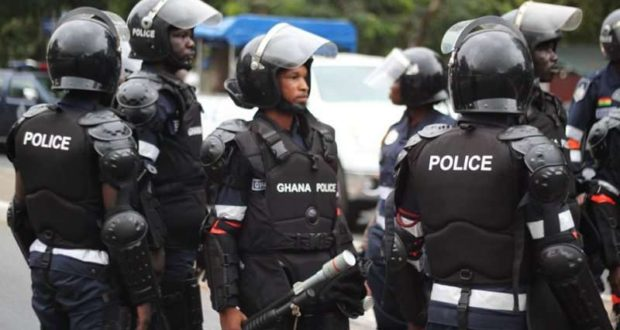 Heavy police presence in Kwahu Abene over chieftaincy dispute
