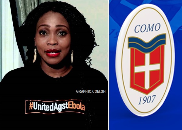 Michael Essien's Wife Akosua Puni apologises to FC Como players for salary delay