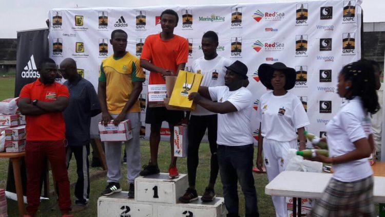 EMMANUEL YEBOAH WINS GHANA FASTEST HUMAN ACCRA