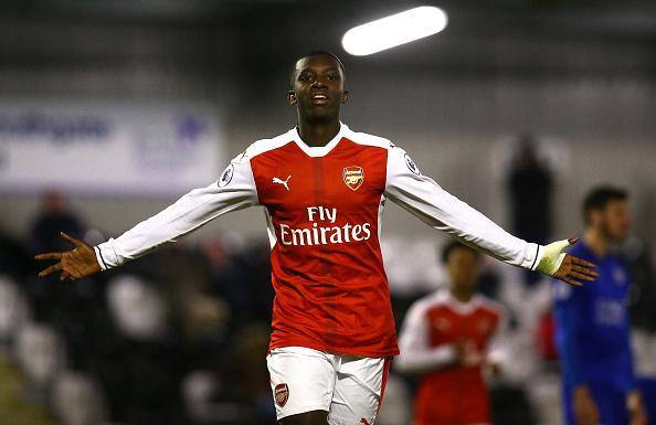 Arsenal youngster Eddie Nketiah savours pre-season appearances