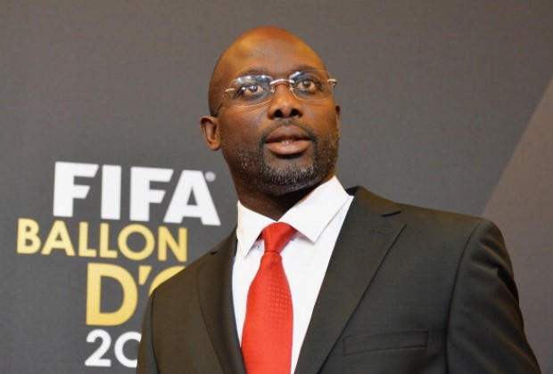 Africa Football Legend George Weah Lists His Top Three Ghanaian Musicians