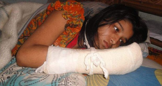 Man chops off wife's fingers to stop her from pursuing a degree