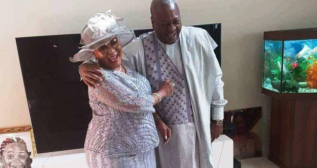 PHOTOS: John Mahama, Lordina renew wedding vows after 25 years of marriage