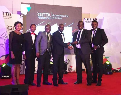 LIRANZ WINS IT CONSULTING FIRM OF THE YEAR AT GITTA 2017