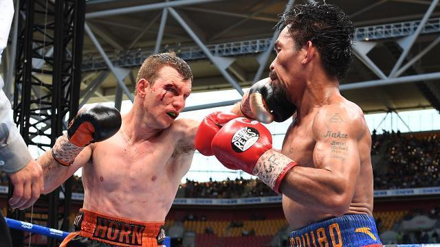 Jeff Horn defeats Manny Pacquiao: 'Ridiculous' decision blasted by US