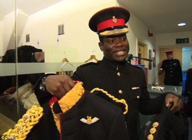 Queen Elizabeth II appoints Ghanaian army officer as her assistant