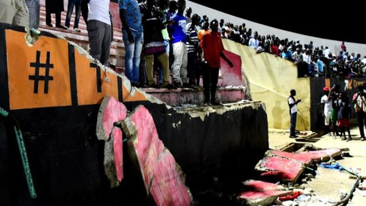 Eight perish in Senegal football stampede