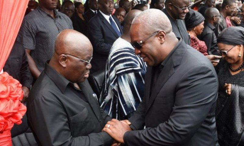 Prez Akufo-Addo, Ex-Prez Mahama commiserate with distraught Asante Kotoko