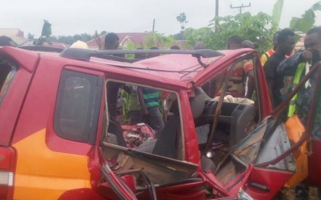 Gory accident kills 4 in Bekwai