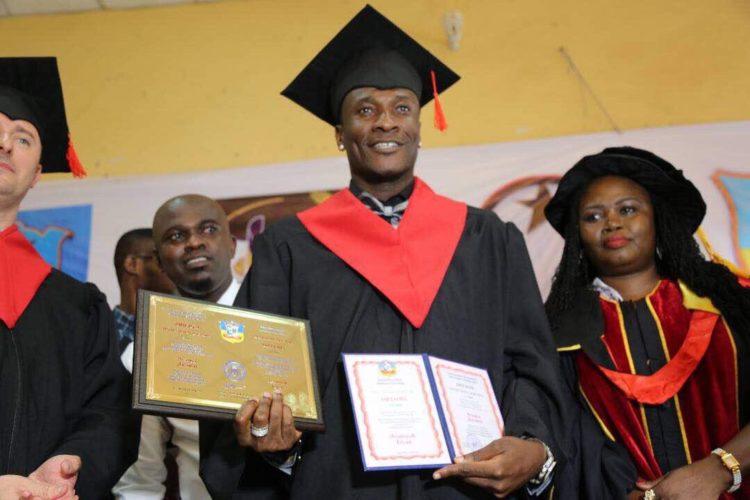 "Asamoah Gyan: ""Call me His Honour Dr. Asamoah Gyan"""