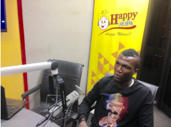 I support Hearts of Oak but I'm a professional- Abednego Tetteh
