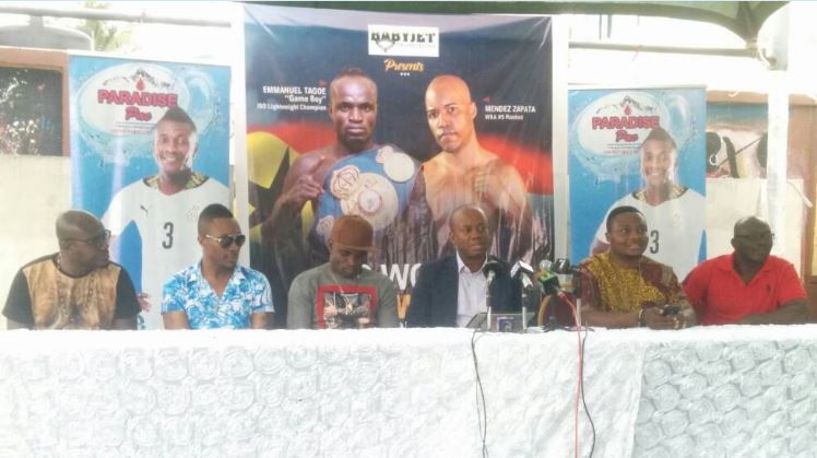EMMANUEL TAGOE CLASHES WITH MENDEZ ON SEPT 2