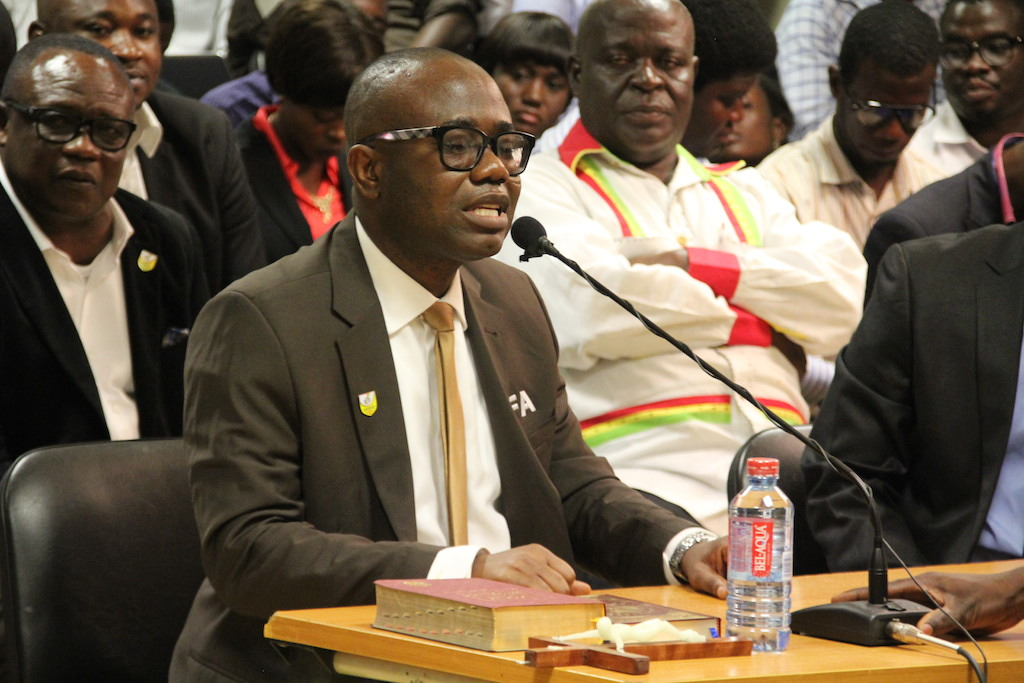 """""""Let's boot out 'GORO BOYS' from GFA""""- Black Stars Mgt C'tee Member"""