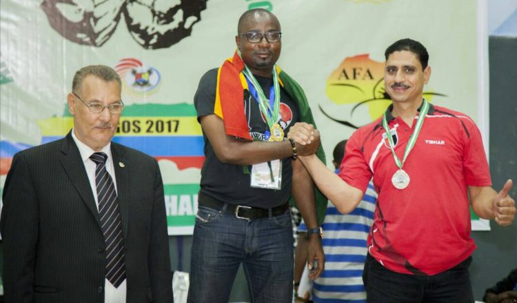 GHANA LEAVES FOR WORLD ARMWRESTLING CHAMPIONSHIP/CONGRESS