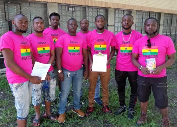 Eight Ghanaian gays protest treatment in Ghana