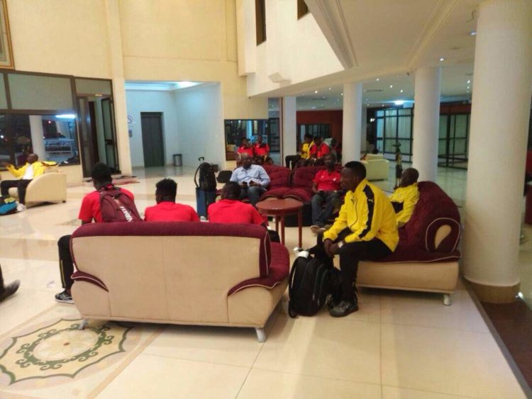 PHOTOS: Black Stars 'B' land in Burkina Faso For Crunch CHAN Qualifier