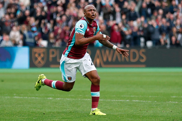 Andre Ayew upbeat after West Ham first league win