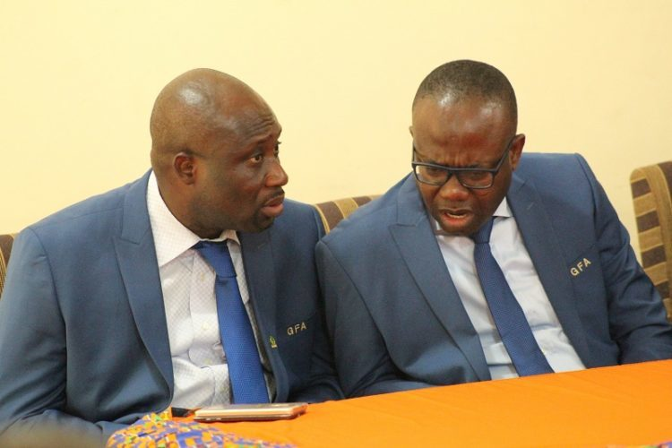 I'm not responsible for George Afriyie feud- Kwesi Nyantakyi