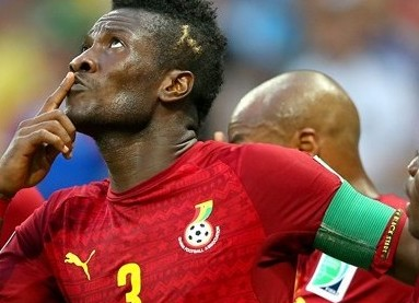 Only God can retire me from Black Stars - Asamoah Gyan