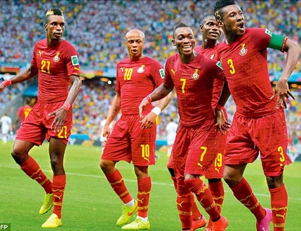 Probably Black Stars starting line-up against Congo today