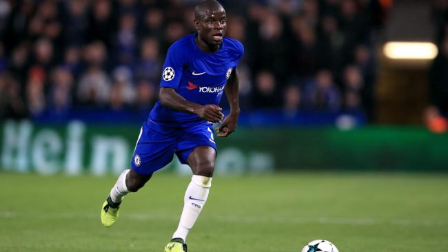 Chelsea midfielder  N'Golo Kante out for three weeks with hamstring injury
