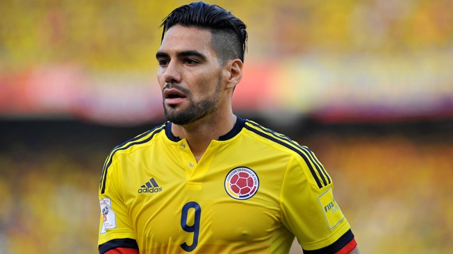 Radamel Falcao has sparked controversy following Colombia's World Cup qualifying draw with Peru.