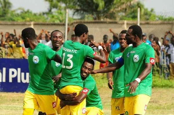 GPL Week 28 Round-up: Aduana Inch Closer To Title, Olympics Shock Sharks As Kotoko Stumble- All the results, scorers and league table