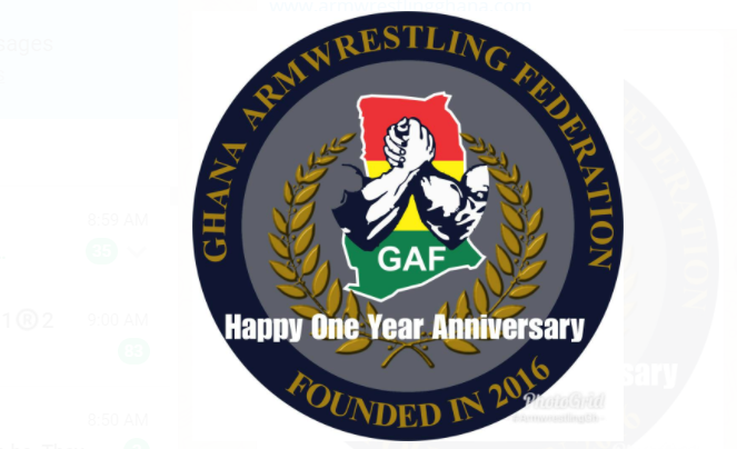 GHANA ARMWRESTLING FEDERATION CELEBRATE ONE YEAR ANNIVERSARY