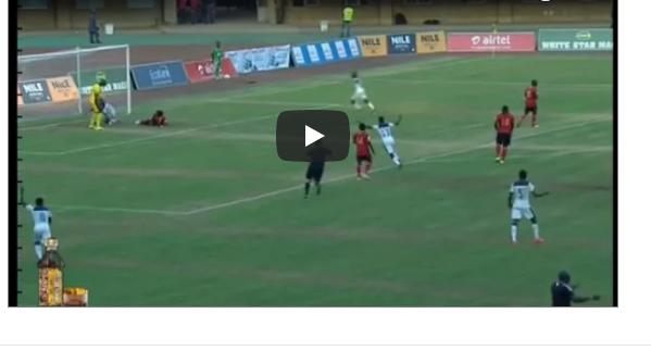 VIDEO: Watch Ghana's Goal SHOCKINGLY Disallowed Against Uganda