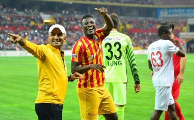 """Asamoah Gyan expresses relief after netting first Turkish Super Lig goal- """"Lord I thank You"""""""