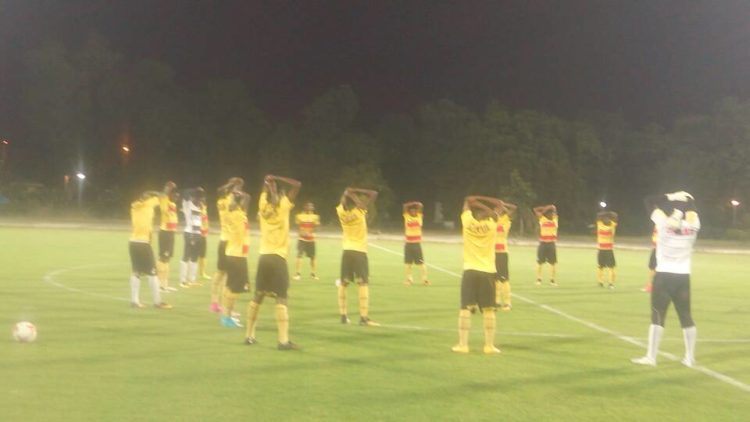PHOTOS: Black Starlets Hold First Training Session In India