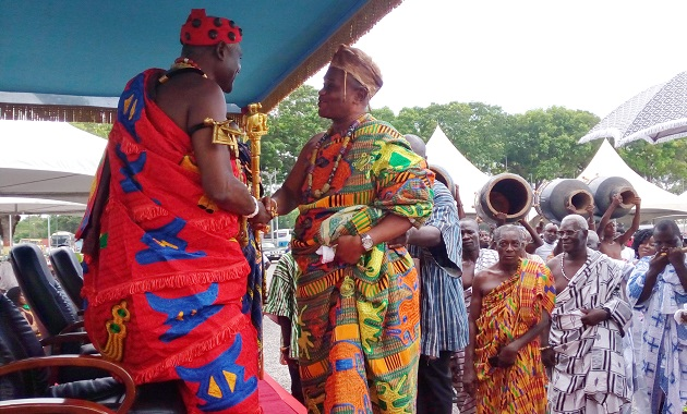 House of chiefs cited in fraudulent induction of Ga mantse