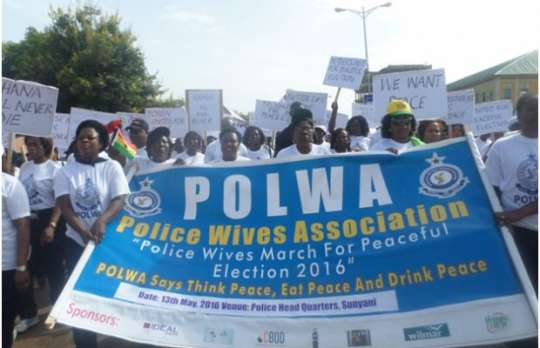 Support your husbands to maintain law and order – Police wives told