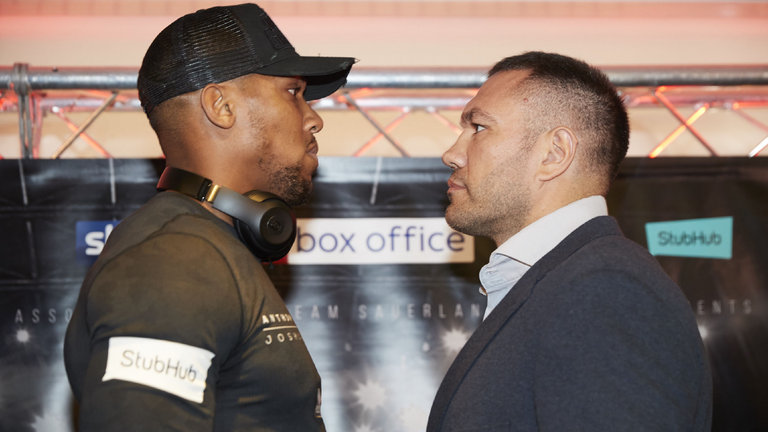 Joshua vs Pulev: Kubrat Pulev adamant that Anthony Joshua is far from the finished article