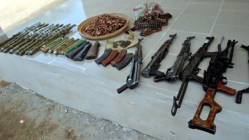 Police intercept car loaded with AK47, ammunition