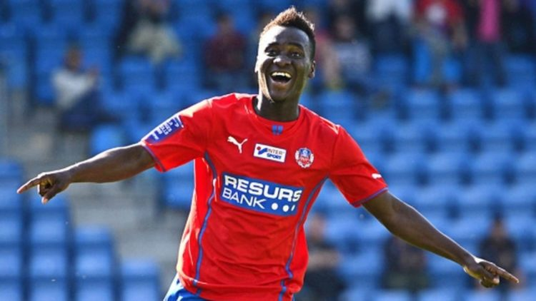 Accam's backheel finish nominated for Goal of the Year