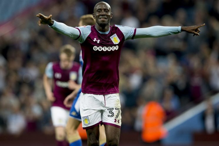 Albert Adomah hits eight league goal for Aston Villa