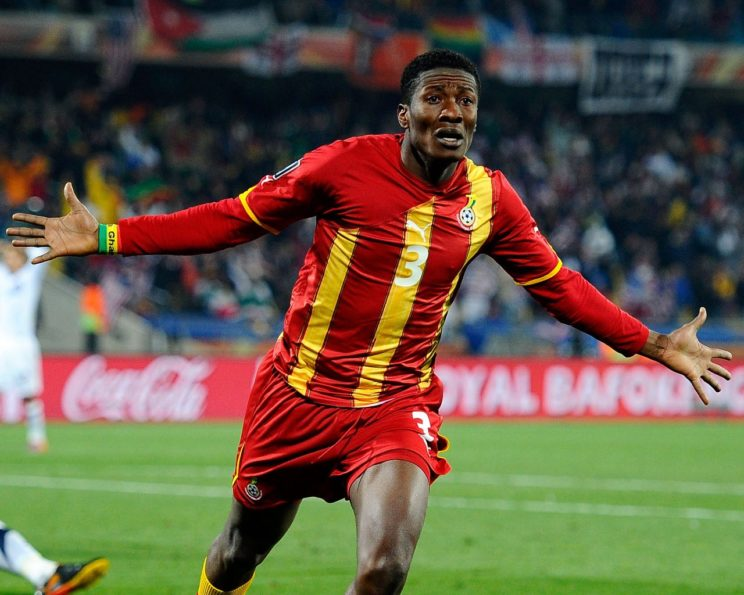 I should have stayed longer in the EPL - Asamoah Gyan