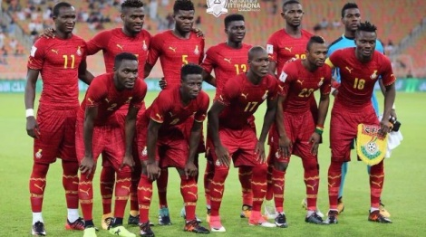Ghana held  1- 1 at home in World Cup qualifier