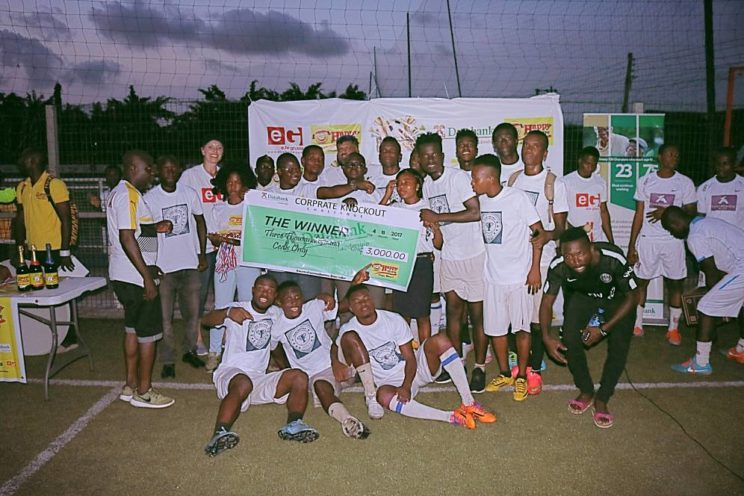 KARL BROWN WIN CORPORATE KNOCKOUT CHALLENGE