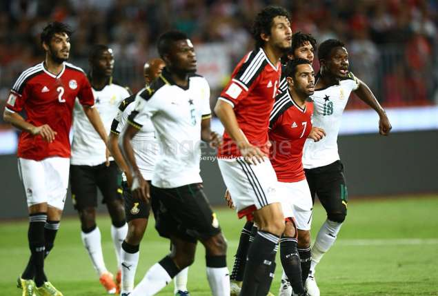 GHANA HELD  1-1 AT HOME IN FINAL WC QUALIFIER