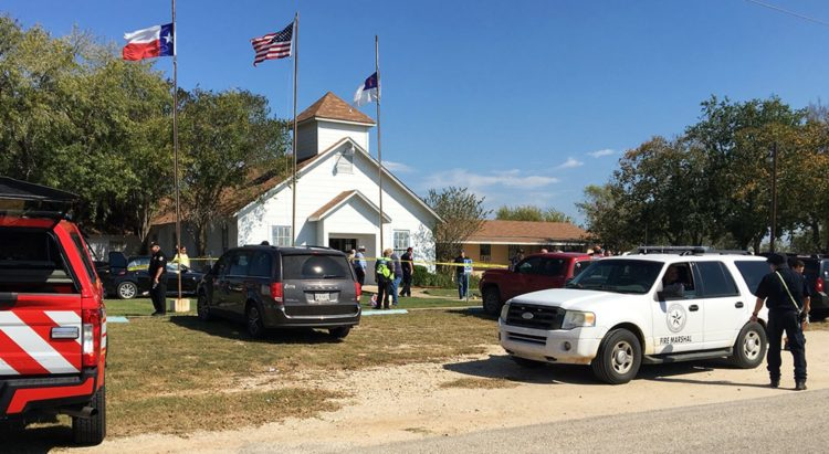 26 killed in Texas Church Shooting; 20 more injured
