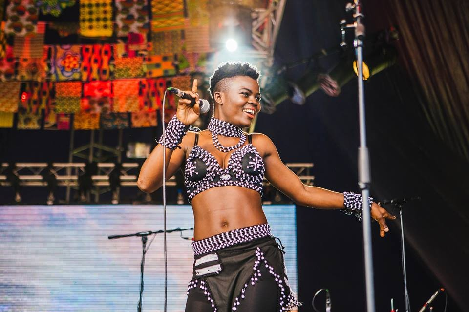Wiyaala Back in Ghana Thrilling Audiences Again