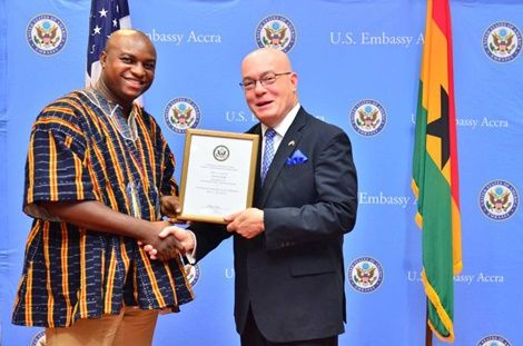 US Government awards NDC youth organizer